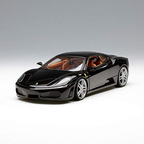 PENGJIE-Model 1:18 Ferrari F430 Car Model Fully Open Alloy Sports Car Model (Color : Black)
