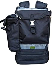 Backpack for Philips Respironics SimplyGo Mini Portable Oxygen Concentrator Carrying Holder Backpack for both standard & extended batteries