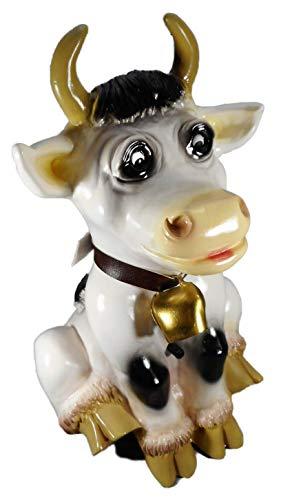 Deko Bewegungsmelder Kuh 31 x 20 x 20 cm, 650 Gramm Figur Germany PVC GRS 0789BWM