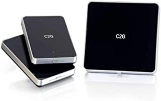 C2G 29512 Wireless A/V for HDMI Devices with 2 Receiver Kit, Black