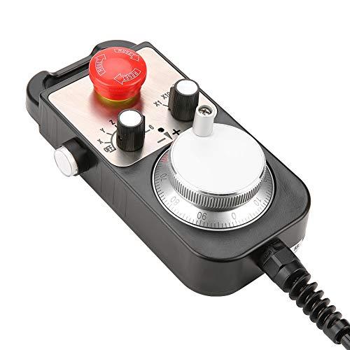 CNC Handwheel 6 ejes universal electrónico volante manual generador de pulso CNC práctico Pulser 5V