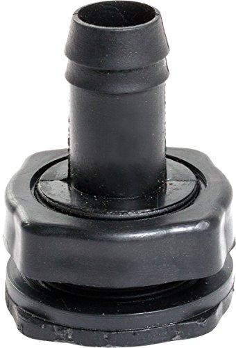 Hydrofarm AAKEF2 Active Aqua Fill//Drain Combo Kit Black
