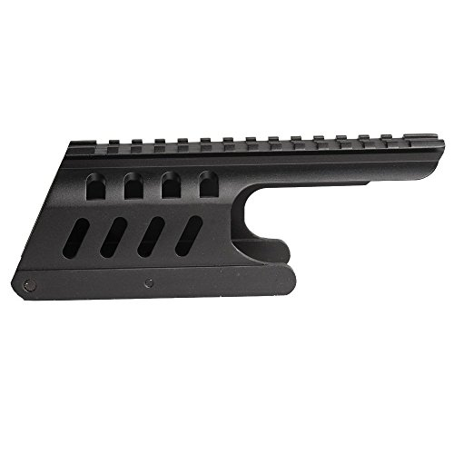 Noga Tactical 20 mm Doble Picatinny 165 mm Longitud Sistema de Montaje en riel Apto para Remington 870 RM870 12 Ga. Alcance