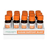 Blood Sugar Support Supreme Superfood Blend Ayurveda Shots -Better Bitters-Fat Blocking -Glucose Control -Improved Circulation & Stabilizer-Total Blood Sugar Optimizer-Weight Loss (15 Pack)