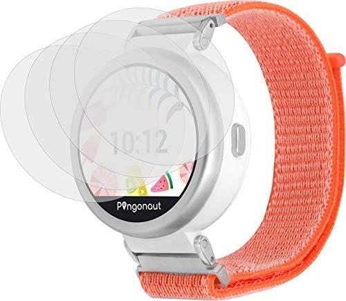 4ProTec I 4X Crystal Clear klar Schutzfolie für Pingonaut Puma Bildschirmschutzfolie Displayschutzfolie Schutzhülle Bildschirmschutz Bildschirmfolie Folie