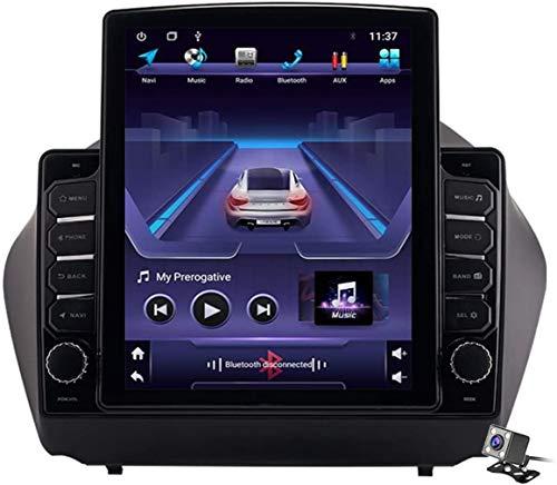 Vertical Android 9.1 schermo da 9,7 pollici navigatore GPS per auto per Hyundai IX35 Tucson 2010-2015 - FM autoradio per la connessione a Internet, il supporto chiama DSP DVR/Handsfree.