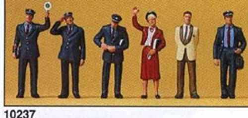 HO Scale 1989 Train personnel by Preiser