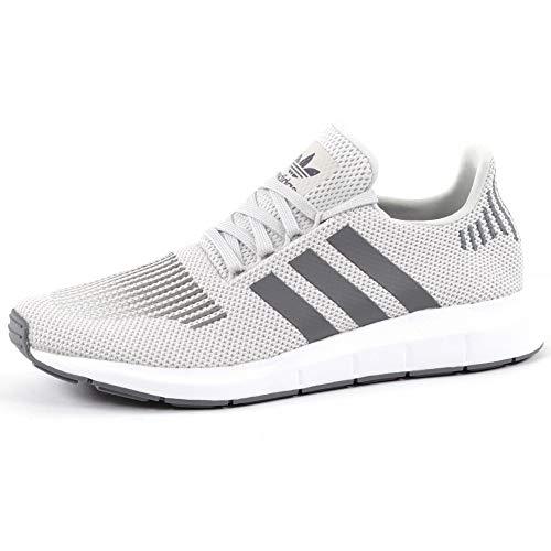 adidas Swift Run, Zapatillas de Gimnasia para Hombre, Gris (Grey One F17/grey Four F17/medium Grey Heather), 37 1/3 EU