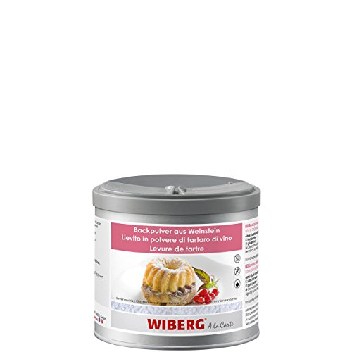 Wiberg - Backpulver aus Weinstein, ohne zugesetztes Phosphat, 420g, Aromatresor