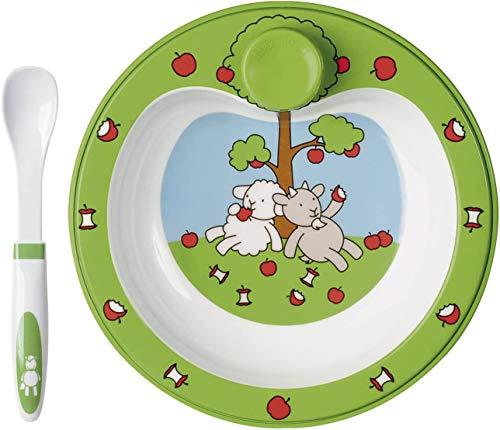 Emsa FARM FAMILY Assiette chauffante pour repas de bébé,