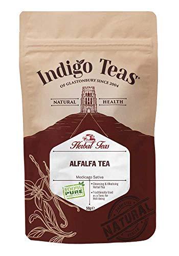 Indigo Herbs Alfalfa Blatt (Luzerne) Tee 50g