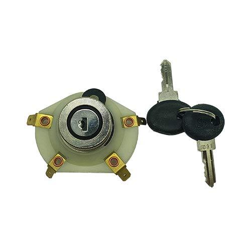 one by camamoto serrature completo blocchetto chiavi avviamento (cod 77670065 compatibile con piaggio vespa px 125-150-200 / vespa 50-125cc 1967-1982 / et3 125 1976-1983   R.O. 160743)
