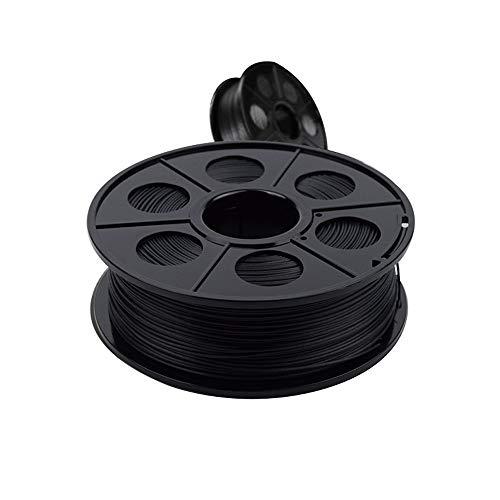 PLA Filamento1,75 Mm,Filamento In Fibra Di Carbonio 1,75 Mm Filamento for Stampa 3D, Filamento Conduttivo,per Stampanti 3D E Penne 3D,2kg (Color : PLA1.75 carbon fiber 2kg)