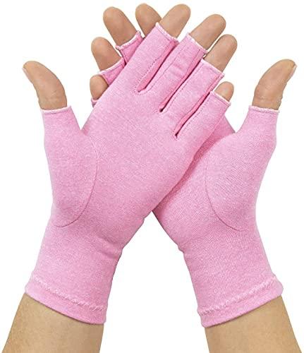 David Copper Compression Cotton Arthritis Gloves. Best Copper Infused Glove for Arthritis Hands,...