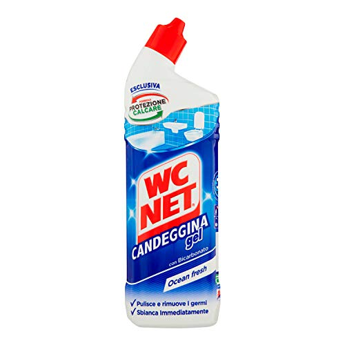 Wc Net Candeggina Gel Extra White, Detergente per Sanitari e Superfici, 700ml