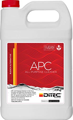 DITEC Marine All Purpose Cleaner Concentrate, 1 Gallon   Detergent & Multi Surface Cleaner for Boats   Fabric & Boat Carpet Cleaner