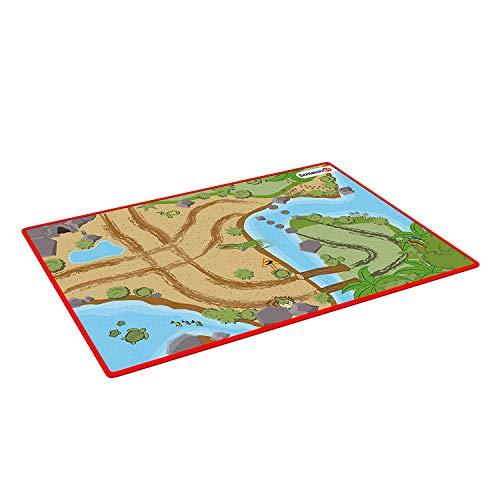 Schleich 42477 Wild Life Spielset - Spielteppich Wild Life, Spielzeug ab 3 Jahren