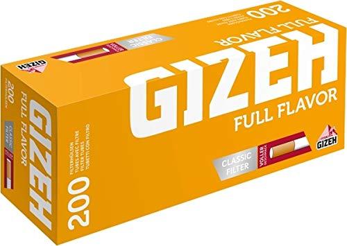 GIZEH - Hülsen - Finest Flavor - 5 Stk = 1000 Hülsen