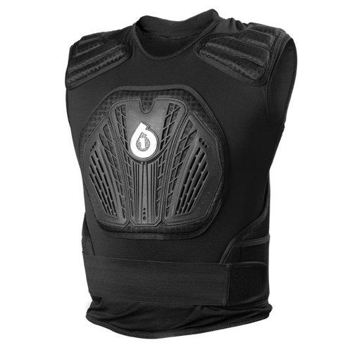 SixSixOne 6823-05-071 Core Saver Veste de Protection Mixte Noir Taille XXL