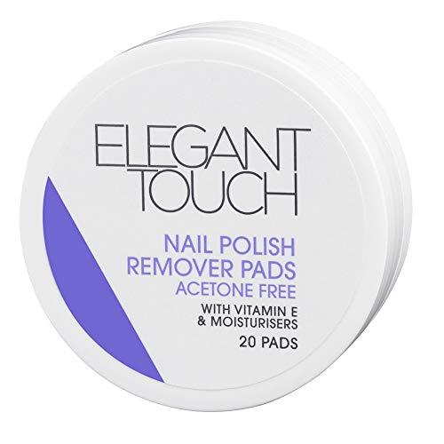 Elegant Touch Disques Dissolvants à Vernis à Ongles 20 Pièces