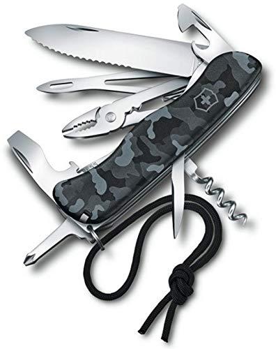 Victorinox Skipper Taschenmesser, 18 Funktionen, Kordel, Feststellklinge, Drahtschneider, navy camouflage