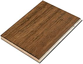 Cali Bamboo - Wide T&G Engineered Flooring, Antique Java Brown, Aged - Sample Size 8
