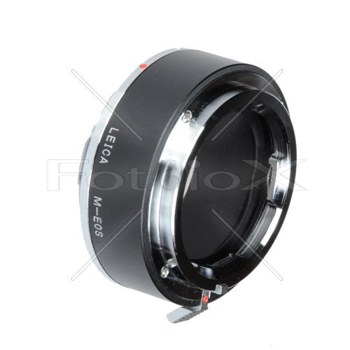 Fotodiox Pro Lens Mount Adapter, Leica Visoflex M Lens to Canon EOS Camera Mount Adapter, for Canon EOS 1D, 1DS, Mark II, III, IV, 1DC, 1DX, D30, D60, 10D, 20D, 20DA, 30D, 40D, 50D, 60D, 60DA, 5D, Mark II, Mark III, 7D, Rebel XT, XTi, XSi, T1, T1i, T2i, T3, T3i, T4, T4i, C300, C500 -  07LAvmeosp