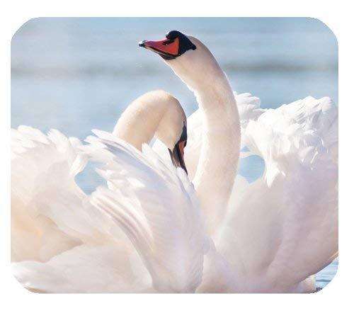 Piękna Swan Art Dostosowany Trwałe podkładka do domu i biura