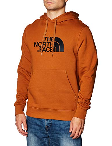 THE NORTH FACE M Drew Peak PLV HD Caramel Cafe Sweatshirt Homme, FR : M (Taille Fabricant : M)