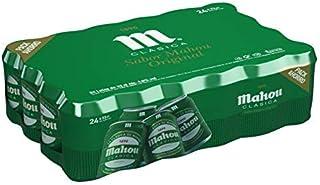 comprar comparacion Mahou Clásica - Cerveza Dorada Lager, 4.8% de Volumen de Alcohol - Pack de 24 x 33 cl