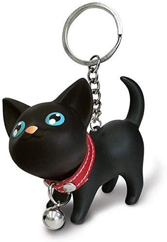 ICEBLUEOR Porte-clés chat chaton pour clés de voiture Kawaii Adorable pendentif de sac Idée...