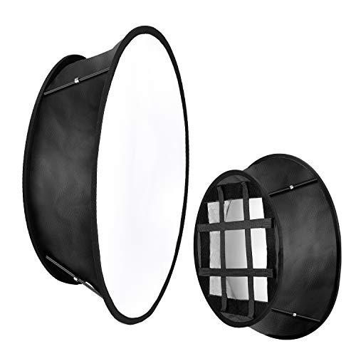Neewer Faltbarer Softbox Diffusor Kompatibel mit Neewer 480/660/530 LED-Lichtpaneelen 11,5 x 11,5 Zoll Öffnung mit Riemenbefestigung und Tragetasche für Videoaufnahmen im Fotostudio