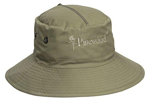 Pinewood Chapeau Anti-moustiques pour Homme Beige Kaki Clair Taille Unique