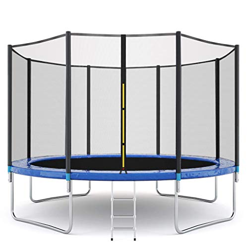 TIS_SUIT 12 FT Kids Trampoline with Enclosure Net Jumping...