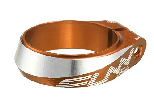 Funn(ファン) フロードン(Frodon) ボルト固定タイプのシートクランプ(オレンジ, 内径:31.8ミリメートル)