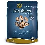 Applaws Tuna/Seabm 2.47 Oz Pouch/12 Cs