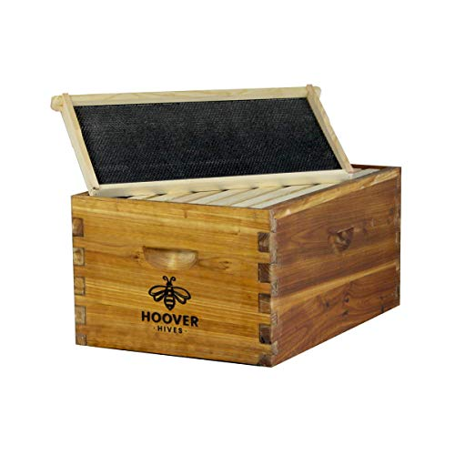 Happybuy Langstroth Bee Hive 4 Layer Langstroth Box 20  Frame
