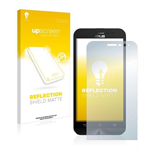 upscreen Entspiegelungs-Schutzfolie kompatibel mit Asus ZenFone Go ZB500KL – Anti-Reflex Bildschirmschutz-Folie Matt