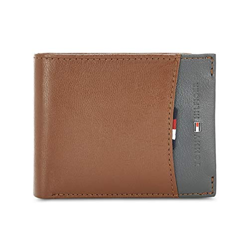 Tommy Hilfiger Tan Leather Men's Wallet (8903496127454)