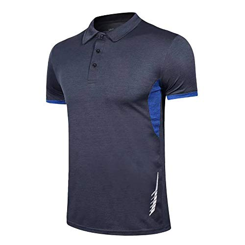 Hommes Polo Court Manche Chemises Coupe sèche Le Golf T-Shirt pour Men Tshirts