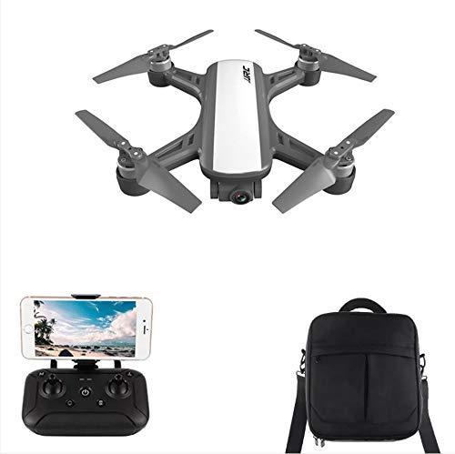 RONSHIN JJRC X9 Heron GPS 5G WiFi FPV con cámara 1080P Posicionamiento de Flujo óptico RC Drone Quadcopter RTF VS Dream Blanco + Mochila