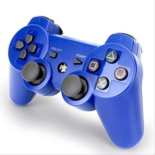 SMEI Tapis De Jeu Bluetooth Sans Fil Pour Ps3 Controller Play Station 3 Dual-shock Game Joystick Play Station 3 Console bleu