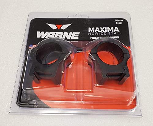 Warne Scope Mounts 514M 30mm, PA, Medium Matte Rings, Multi,...
