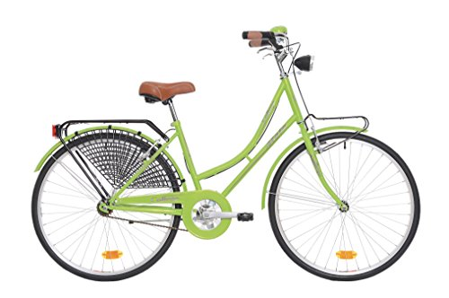Atala Bicicletta citybike Unisex College, 26', Misura 43, Taglia Unica, Colore Verde