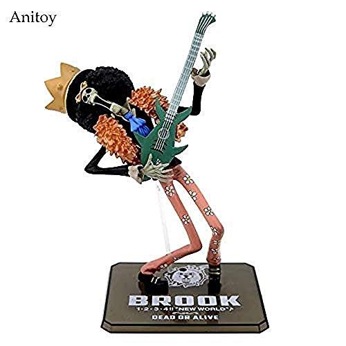 Anime Cartoon Two Years Later One Piece Brook PVC Figura de acción de