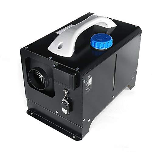 Generic Savada 12V 8KW Diesel Lufterhitzer Kit, Diesel Standheizung Kraftstoff Standheizung Kompaktes Warmluftgebläse (schwarz)