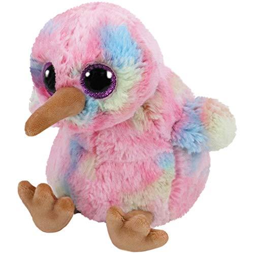 Ty Beanie Buddy Kiwi Animales de Juguete Felpa Azul, Rosa, Amarillo -...