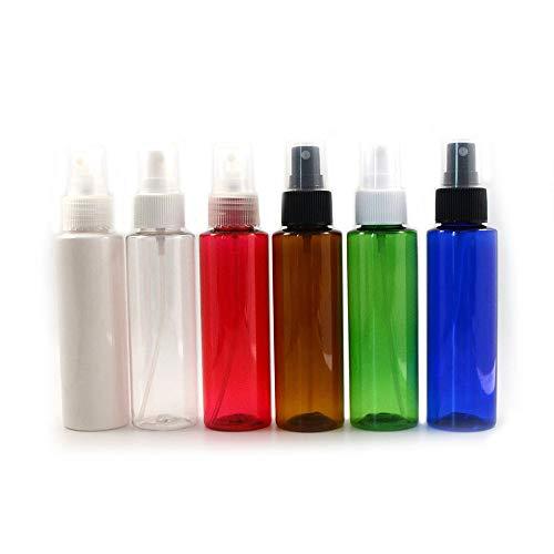 Sprühflasche, 100 ml, handgefertigt, für Kosmetikartikel, Spraybehälter, Braun, Schwarz, 20 Stück