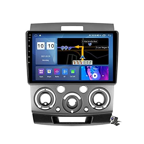 Android 10 Autoradio multimediale con 9 Pollici Screen per Mazda BT-50 2006-2011 Supporta la Navigatore GPS/DSP Stereo Auto/FM RDS Radio/Controllo del Volante/Carplay Android Auto,M600