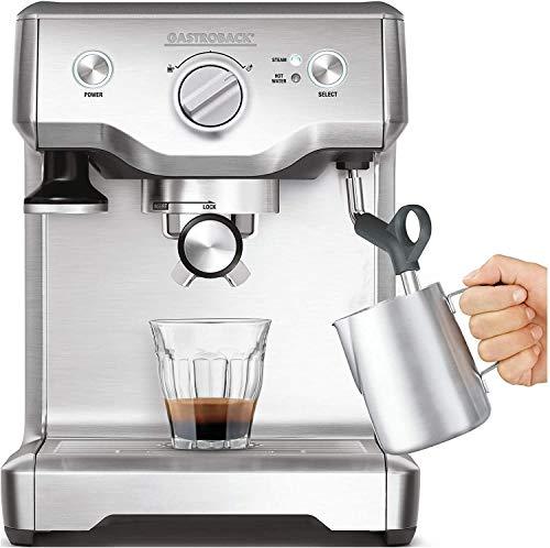 Gastroback 42609, Plata, 1200 W, 320 x 260 x 270 mm, 12000 g - Máquina de café
